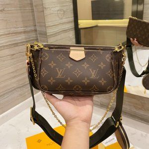 NWT🍐LouisVuitton 🍐women's Black Multi  Bag